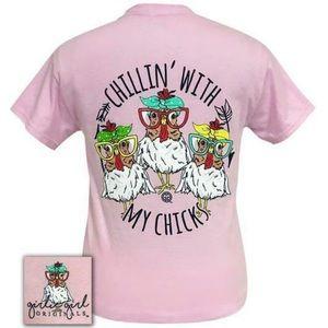 GILDAN- Girlie Girl Graphic  T-Shirt